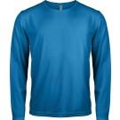 Heren long sleeve sport shirt, in 8 kleuren
